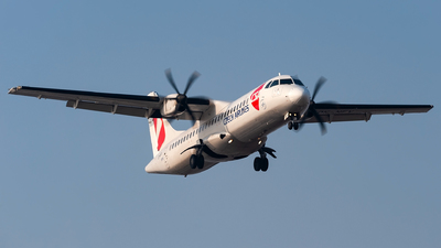 A picture of OKNFV - ATR 72500 - Czech Airlines - © Lorenzo Delucchi