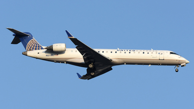 A picture of N511MJ - Mitsubishi CRJ701ER - United Airlines - © DJ Reed - OPShots Photo Team