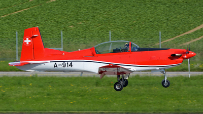 A-914 - Pilatus PC-7 - Switzerland - Air Force