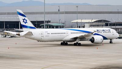 A picture of 4XEDE - Boeing 7879 Dreamliner - El Al - © Ame_Jayzz
