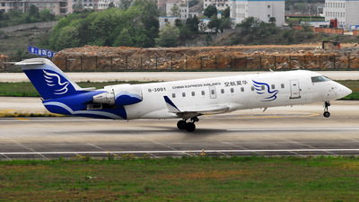 B-3001 - Bombardier CRJ-200LR - China Express Airlines