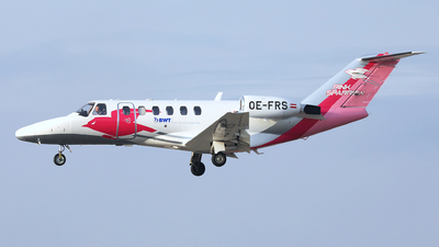 OE-FRS - Cessna 525A CitationJet CJ2 - Pink Sparrow