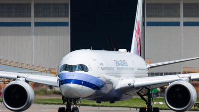 B-18909 - Airbus A350-941 - China Airlines