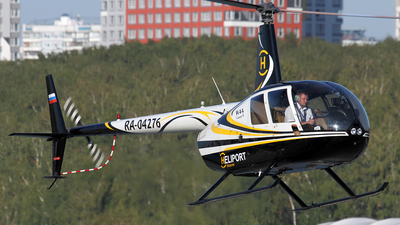 RA-04276 - Robinson R44 Clipper II - Heliport Moscow