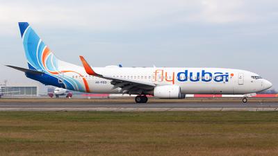 A picture of A6FEO - Boeing 7378KN - FlyDubai - © Robert Dumitrescu