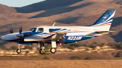 N22AW - Piper PA-31T Cheyenne - Private