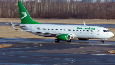 A picture of EZA020 - Boeing 73782K - Turkmenistan Airlines - © ArCher