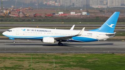 A picture of B6849 - Boeing 73785C - Xiamen Air - © YIJING HOU