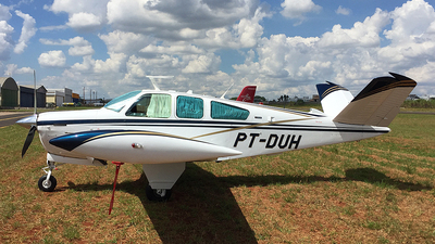 PT-DUH - Beechcraft V35B Bonanza - Private