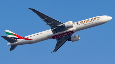 A picture of A6EPT - Boeing 77731H(ER) - Emirates - © Hassaan Ali Khan