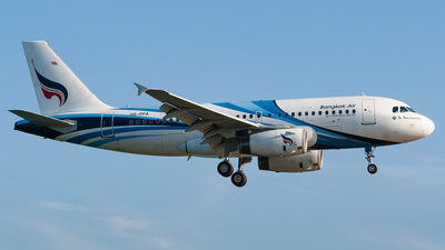 HS-PPA - Airbus A319-132 - Bangkok Airways
