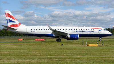 G-LCYJ - Embraer 190-100SR - BA CityFlyer
