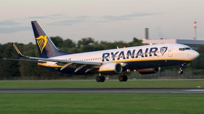 A picture of EIESV - Boeing 7378AS - Ryanair - © Finn Peterson