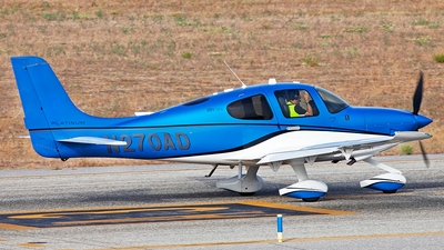N270AD - Cirrus SR22T - Private