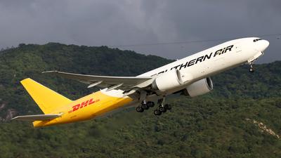 A picture of N777SA - Boeing 777FZB - Southern Air - © Jubilant Chan - AHKGAP