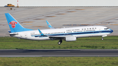 A picture of B5745 - Boeing 73781B - China Southern Airlines - © Xuanting Wang