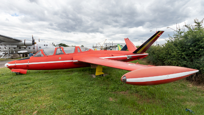 208 - Fouga CM-170 Magister - Belgium - Air Force