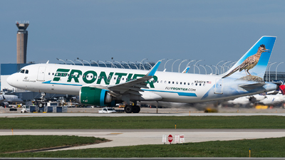 N346FR - Airbus A320-251N - Frontier Airlines