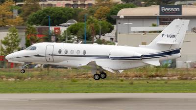 A picture of FHGIM - Cessna 680A Citation Latitude - [680A0173] - © Eric Verplanken