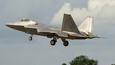 06-4108 - Lockheed Martin F-22A Raptor - United States - US Air Force (USAF)