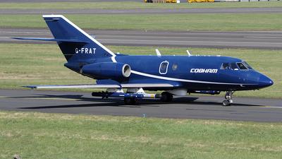 A picture of GFRAT - Dassault Falcon 20 - Cobham Aviation Services - © Ian Howat