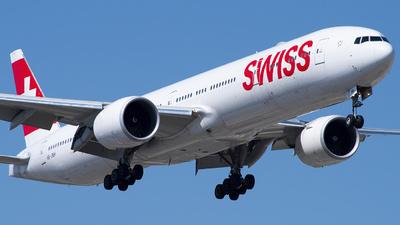 A picture of HBJNH - Boeing 7773DE(ER) - Swiss - © Philip Debski