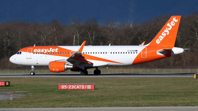 G-EZOO - Airbus A320-214 - easyJet