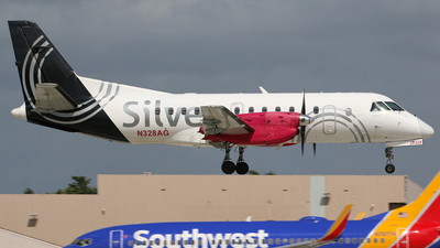 A picture of N328AG - Saab 340B - Silver Airways - © Brian T Richards