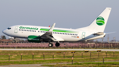 D-AGEQ - Boeing 737-75B - Germania
