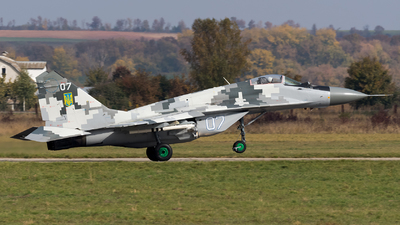 07 - Mikoyan-Gurevich MiG-29M Fulcrum E - Ukraine - Air Force