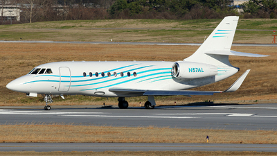 N57AL - Dassault Falcon 2000EX - Private