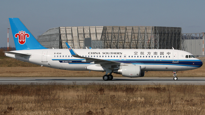 B-8341 - Airbus A320-214 - China Southern Airlines