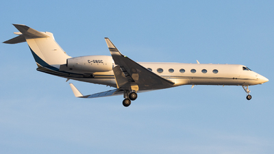 C-GBGC - Gulfstream G550 - Private
