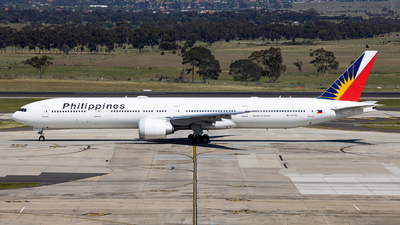 A picture of RPC7775 - Boeing 7773F6(ER) - Philippine Airlines - © Nicholas Kimura
