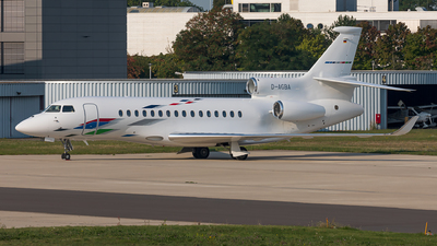 D-AGBA - Dassault Falcon 8X - VW Air Services