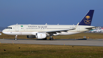 A picture of HZAS68 - Airbus A320214 - Saudia - © Paul Denton