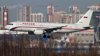 VP-BWI - Airbus A320-214 - Rossiya Airlines