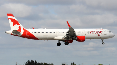 A picture of CFJQD - Airbus A321211 - Air Canada Rouge - © Alexander Portas