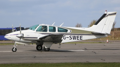 G-SWEE - Beechcraft 95-B55 Baron - Private