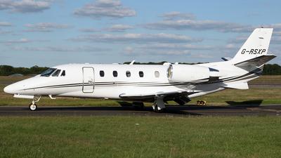 G-RSXP - Cessna 560XL Citation XLS Plus - Private
