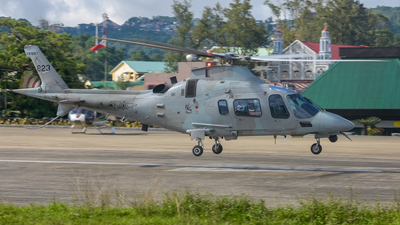 823 - Agusta-Westland AW-109E Power Elite - Philippines - Air Force