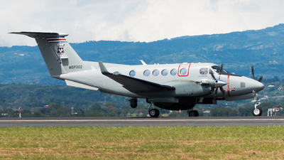 MSP002 - Beechcraft B200GT Super King Air - Costa Rica - Ministry of Public Security
