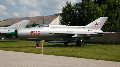 1512 - Mikoyan-Gurevich MiG-21PF Fishbed - Hungary - Air Force
