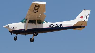 4X-CDK - Cessna 172M Skyhawk II - MoonAir