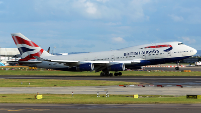 G-CIVF - Boeing 747-436 - British Airways