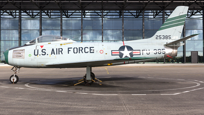 52-5385 - North American F-86F Sabre - United States - US Air Force (USAF)