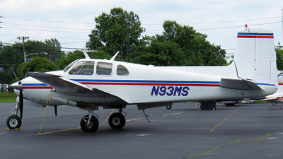 N93MS - Beechcraft 50 Twin Bonanza - Private