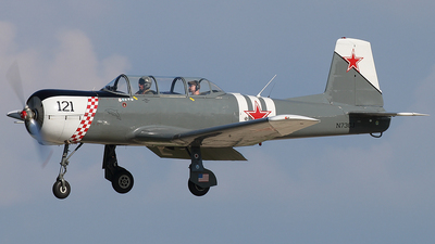 N73CJ - Nanchang CJ-6 - Private