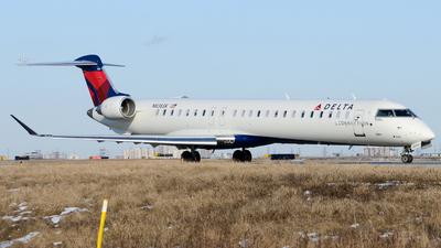 A picture of N836SK - Mitsubishi CRJ900LR - Delta Air Lines - © Aaron Miles