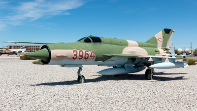 3964 - Mikoyan-Gurevich MiG-21bis Fishbed N - Hungary - Air Force